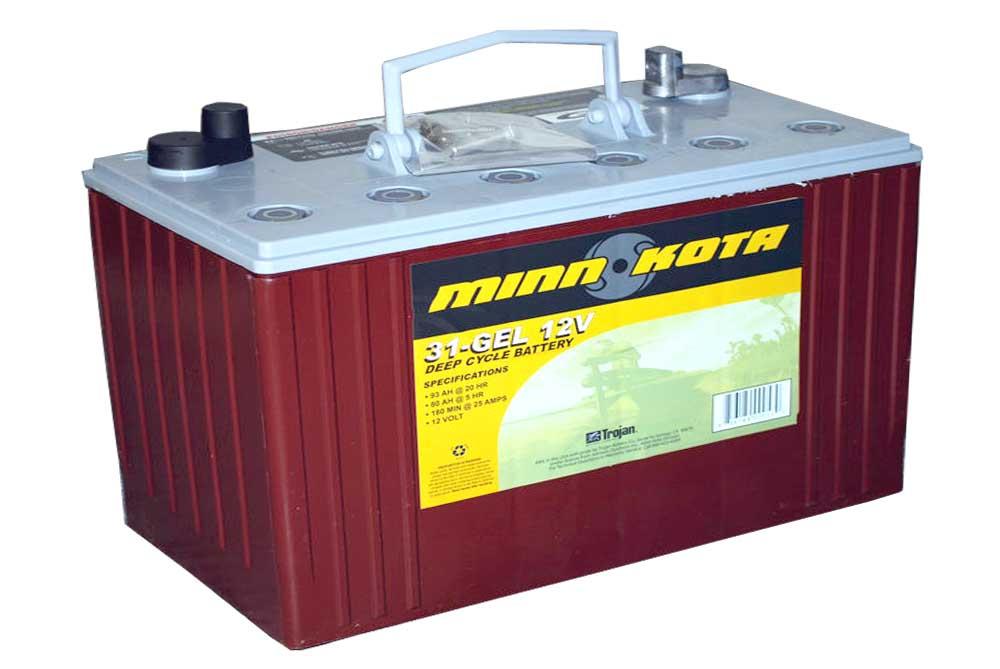 аккумуляторы гелевые для лодочных электромоторов цены
