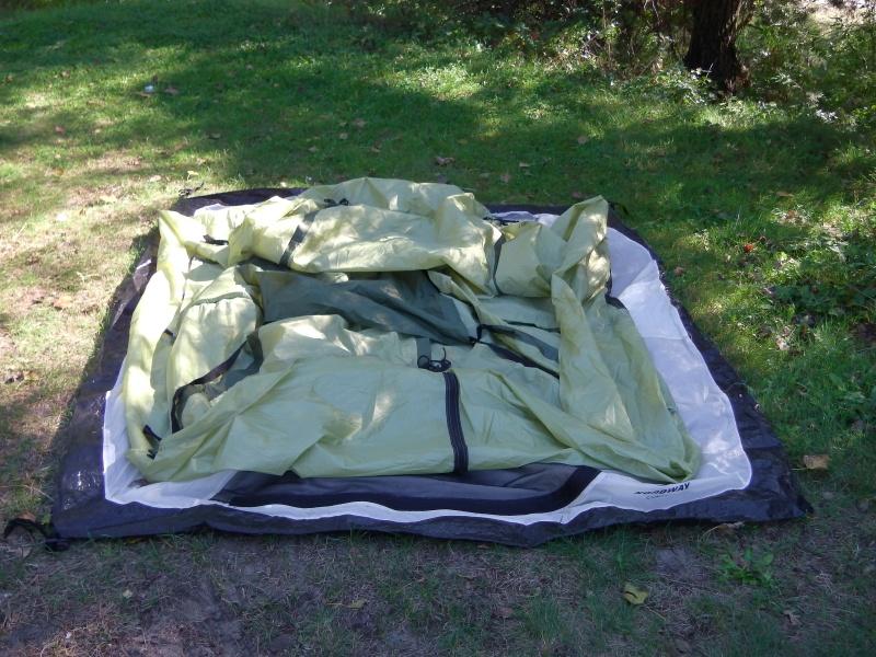 Установить палатку – полдела