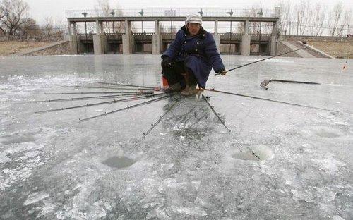 Зимние рыболовные снасти своими