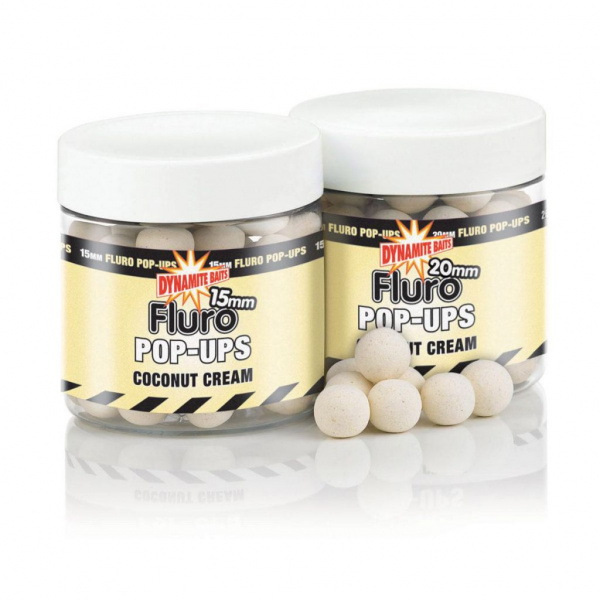 Бойлы плавающие Coconut Cream Fluro 20 мм купить в 1 клик