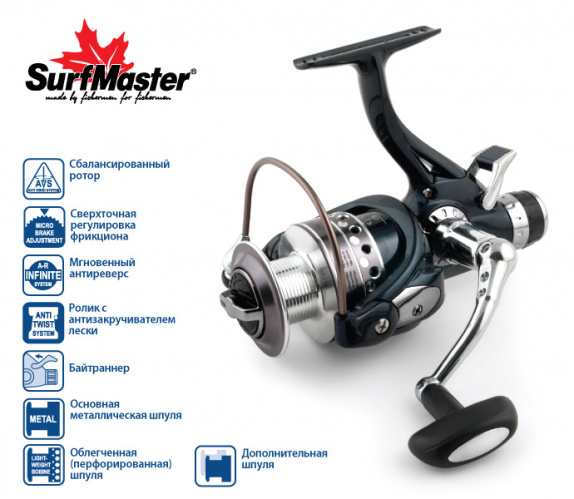 Surf Master Legend Carp BL3000A 5+1bb