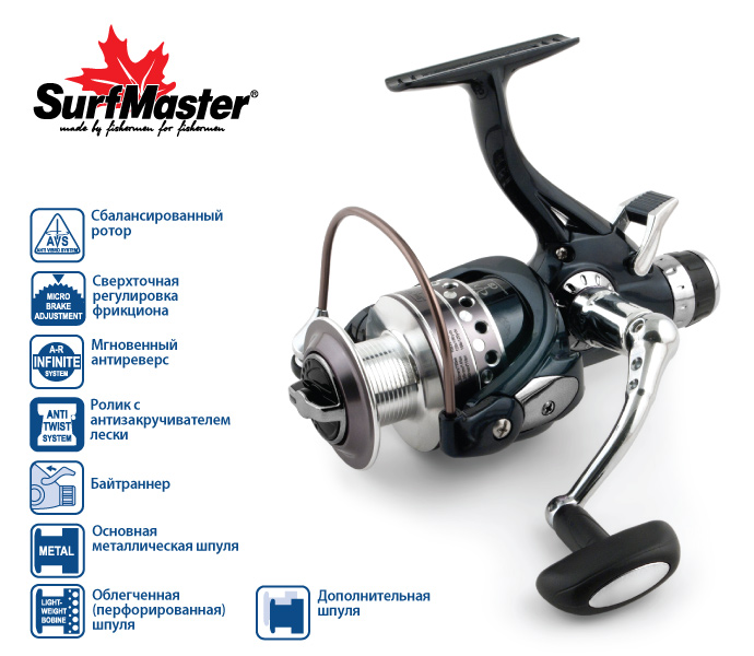Surf Master Legend Carp BL3000A 5+1bb купить в 1 клик