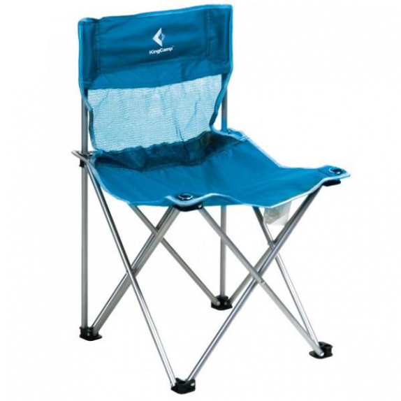 Стул King Camp Compact Chair in Steel M blue