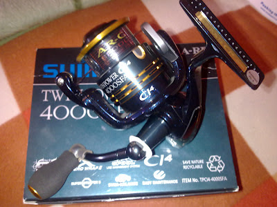 Shimano Twin Power CI4 4000 SFA
