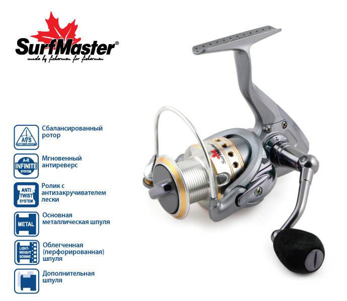 Surf Master Legend FL2000A 7+1 bb купить в 1 клик