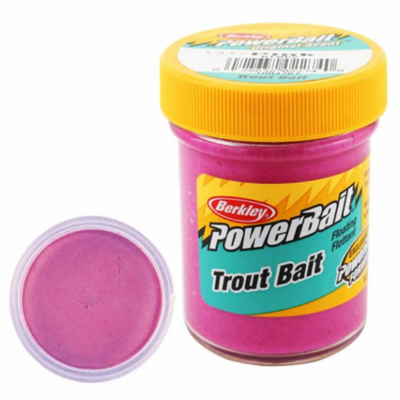 Паста Berkley PowerBait Biodegradable Trout Bait Pink