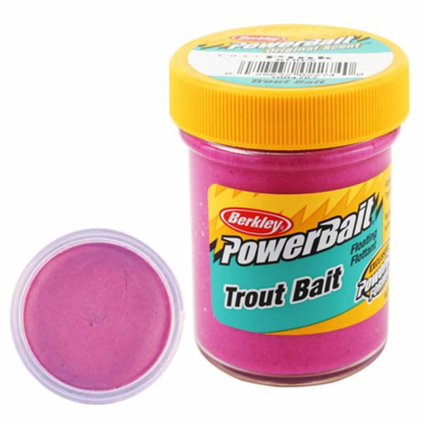 Паста Berkley PowerBait Biodegradable Trout Bait Pink купить в 1 клик