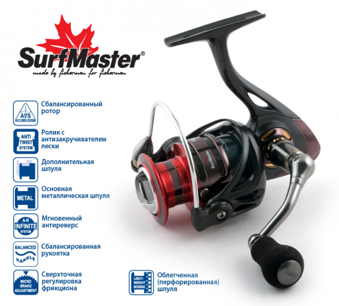 Surf Master Yamato Power Twitch FPT3000A 9+1bb Al match купить в 1 клик