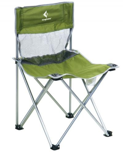 Стул King Camp Compact Chair in Steel M green