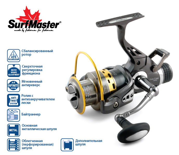 Surf Master Easy Carp 4000A 5+1bb купить в 1 клик