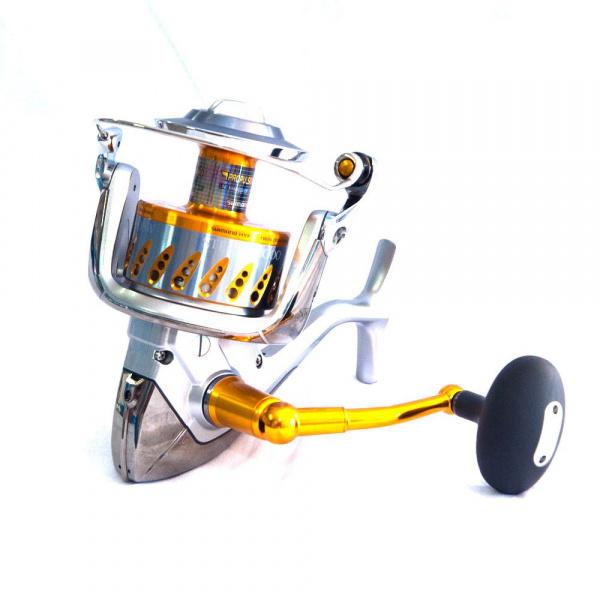 рыболовная бобина от трещеткой